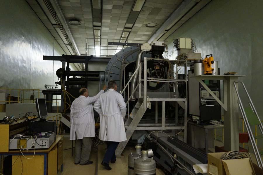 Испытательные стенды позволяют проводить значимые длямировой науки исследования