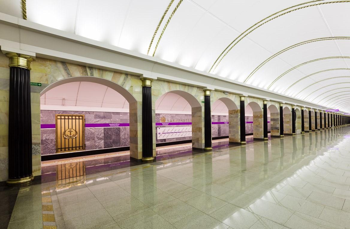 Станции метро санкт петербурга картинки